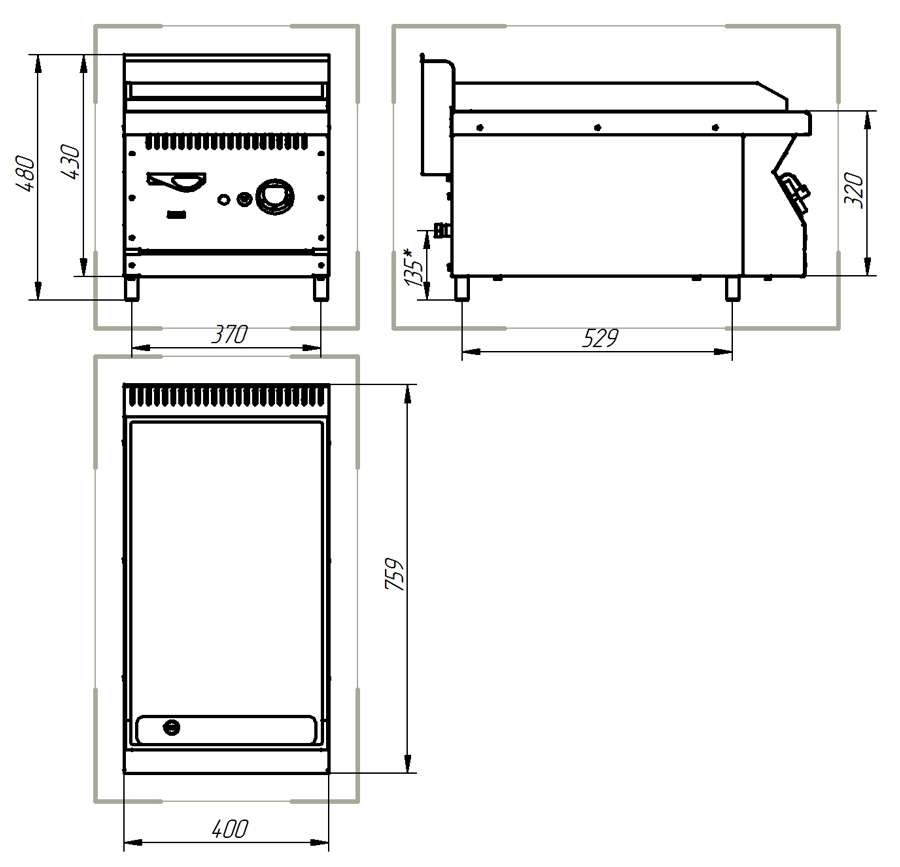 Электроплиты гефест схема